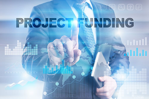 Project financing and brokering of investors